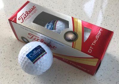 Colliers Golf Balls